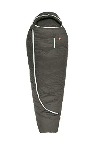 Grüezi-Bag Biopod DownWool Summer 185 Allround-Sommerschlafsack, 215x80cm, bis Körpergröße 185 cm, Tkomf 8°C/Tlim 3°C, Packmaß Ø19 x 19cm