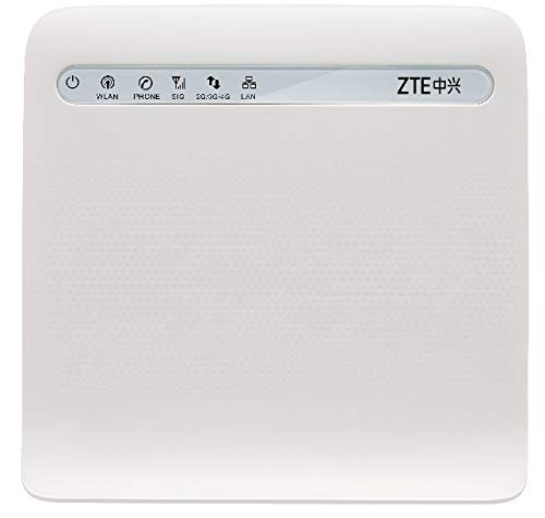 Router 4G LTE MF253 Modem Wi-FI Unlocked GSM Multibam RJ45 (4G LTE USA AT&T Tmobile South America Caribbean)