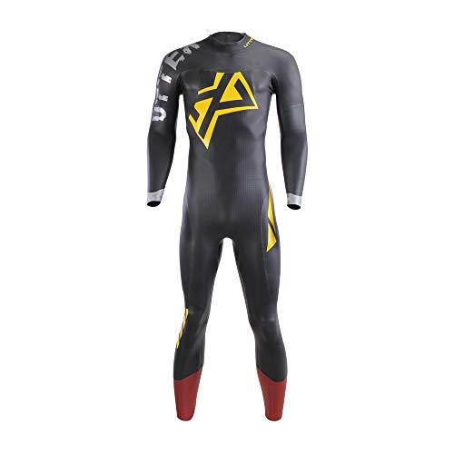 UTTER Xprana - Traje de neopreno para triatlón (5/3 mm, neopreno, para natación en aguas abiertas, Ironman (ML)