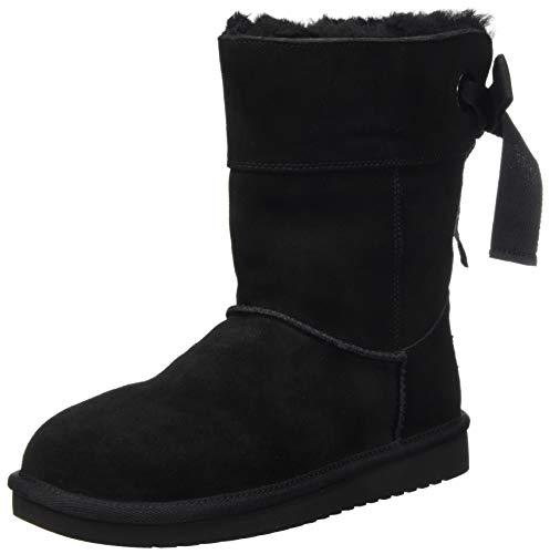 Koolaburra by UGG Women's Andrah Short Classic Boot, Black, 42 EU