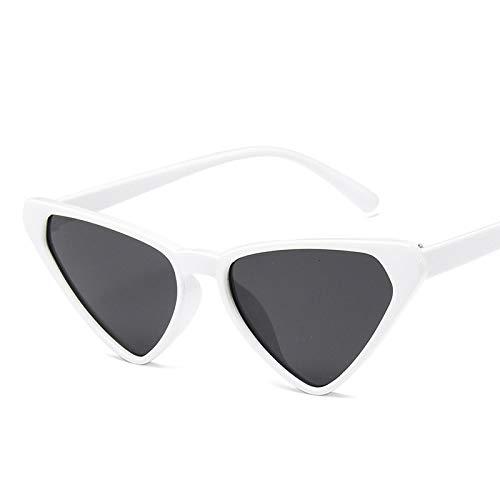 Gafas de Sol Sunglasses Nuevas Gafas De Sol con Forma De Ojo De Gato para Mujer, Gafas Bonitas De Verano, Vintage, Rojo Y Rosa, Gafas De Ojo De Gato Retro Uv400 C8