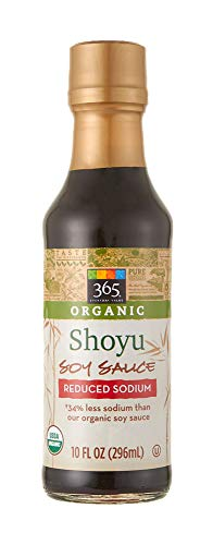 365 Everyday Value, Organic Shoyu Soy Sauce Reduced Sodium, 10 fl oz