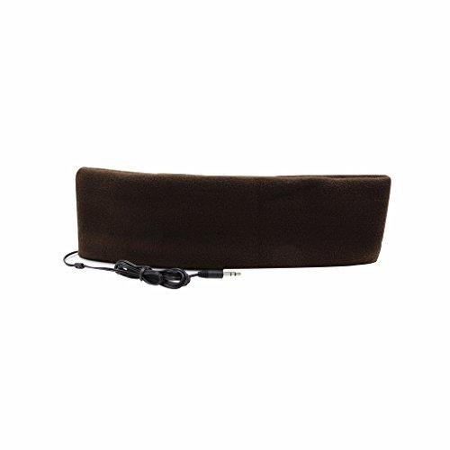 Hanerdun Schlafkopfhörer mit Stirnband, ultradünne Ohrhörer, besonders bequem, geeignet zum Einschlafen, für Flugreisen, die Arbeit, Sport oder bei Schlafproblemen coffee