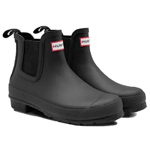 [ハンター] レインブーツ 長靴 オリジナルチェルシー ORIGINAL CHELSEA WFS2078RMA BLACK US7(24.0cm) [並行輸入品]