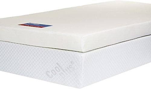 Southern Foam Memory Foam Mattress Topper with Cover, 4 Inch, UK King Size