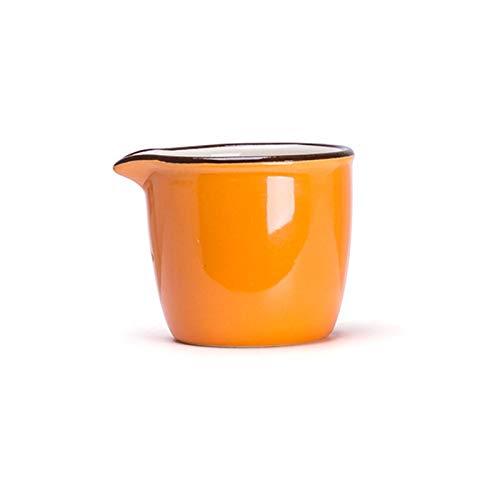 Barcos de salsa de salsas Cremallero de estilo japonés, café, leche, leche, jarabe de arce, sin mango, sopa de sopa, bucket de jugo de alimentos occidentales, se puede calentar en el microondas 60 ml