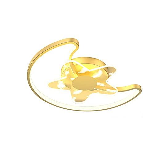 Kangl 2021 Nuevos accesorios de iluminación para dormitorio, moderna luz de techo LED con atenuación infinita, lámpara de protección ocular para habitación de niños, simple, con forma de...