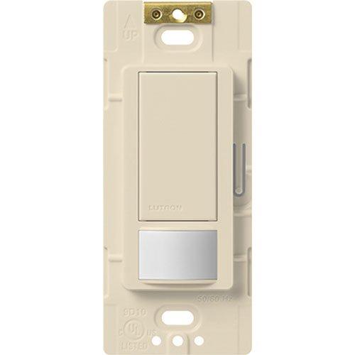 Lutron Electronics MS-OPS2H-LA Maestro Small Room Occupancy, Sensor Switch, Light Almond