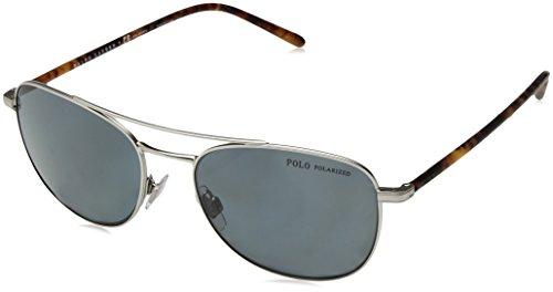 Ralph Lauren POLO 0PH3107 Gafas de sol, Aged Silver, 50 para Hombre