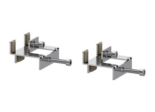 IKEA LINNMON Connecting hardware Bracket, [Nickel Plated] for Attaching Table Top