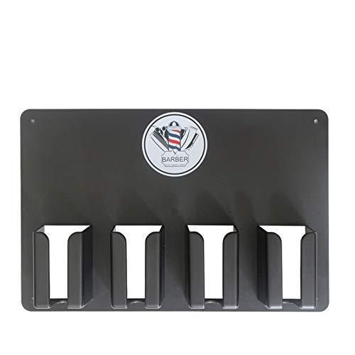 TOOGOO Professionnel Haute TempéRature en Plastique Outils de Coiffeur Cas de Stockage Commode Titulaire de Support de Tondeuse pour Salon de Coiffure Accessoires