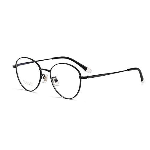 HQMGLASSES Gafas de Lectura Retro de Titanio Puro de Las señoras Gafas de Sol al Aire Libre fotocrómicas, Lente de Resina multifocal progresiva de Alta definición dioptrías+1.0 a +3.0,02,+3.0