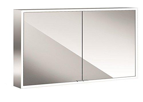 emco asis LED-Spiegelschrank Prime, AP 1200 mm, 2-türig, Rückwand Spiegel