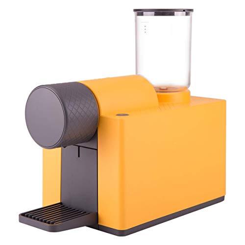 Delta Q Amarilla Cafetera Cápsulas Qlip-Color, 1455 W, 230 litros, 60 Decibelios, Compuesto