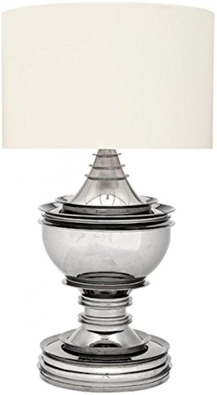 Casa Padrino Luxus Tischleuchte Tischleuchte Tischleuchte Nickel - Luxus Hotel Leuchte B01MQO4IEI   Elegantes und robustes Menü  ce37a4