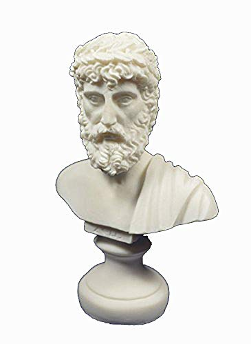 ZEUS Skulptur antiken griechischen Brustumfang King der alle Götter-Statue