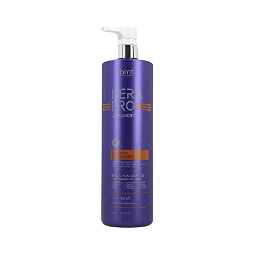 Kerapro Advance Bmt Kerapro Advanced Shampoo Post Alisado, Negro, 1000 Mililitros