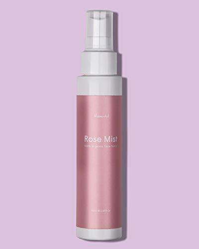 ROSENTAL ORGANICS ® Rosenwasser Gesichtsspray, Tonisierendes Gesichtswasser, Vegane & Tierversuchsfreie Naturkosmetik Für Alle Hauttypen, 100% NATÜRLICH