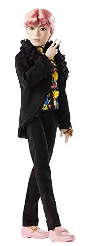 BTS Muñeco Deluxe V, figura de colección premium, miembro banda coreana (Mattel...