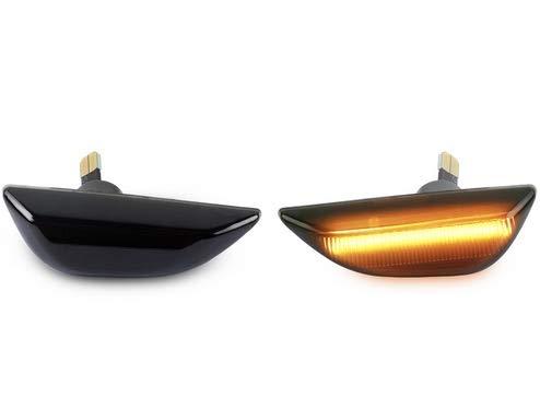 LED SEITENBLINKER schwarz kompatibel für MOKKA MOKKA X Schwarz