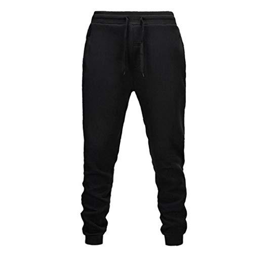 Odoukey Pantalones de los Pantalones de Deportes de los Hombres Que activan los Pantalones Deportivos Pantalones Monos otoño e Invierno Informal