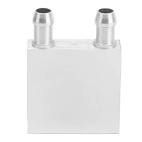 Agatige Bloque de refrigeración por Agua, CPU Gráficos Radiador Disipador de Calor CPU Bloque de refrigeración por Agua Cabezal Enfriador de líquido Semiconductor Radiador de refrigeración