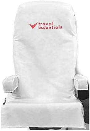 16 Pcs Disposable Reusable Travel Essentials Kit Airplane Seat Covers 2 Pcs Armrest Covers 4 product image