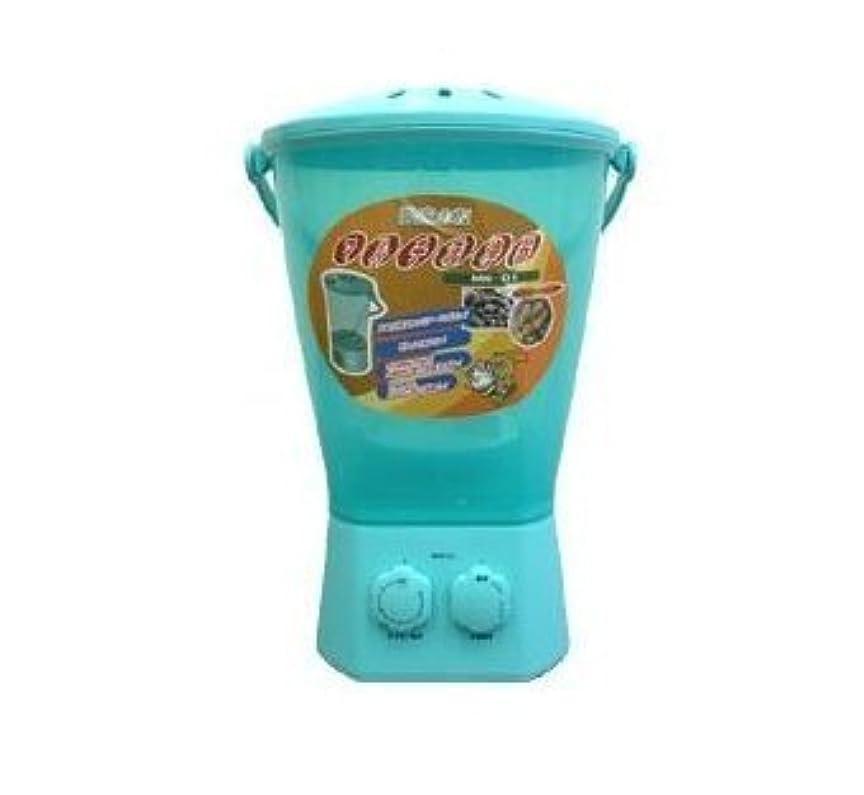 シェーバー地殻アナログ農作物の洗浄?洗濯物の洗浄などに使えます!マルチ洗浄器 サトイモ皮剥き器 芋洗い ミニ洗濯機 MW-01