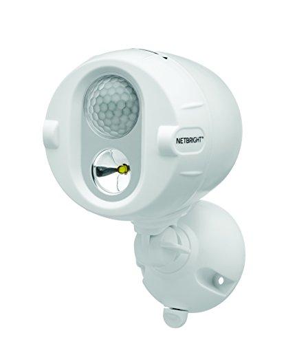 MR BEAMS(ミスタービームス) NETBRIGHT(ネットブライト) LED 人感センサー ライト増設用単品 ホワイト【無線連動タイプで最大50個まで連結可能】 MBN340