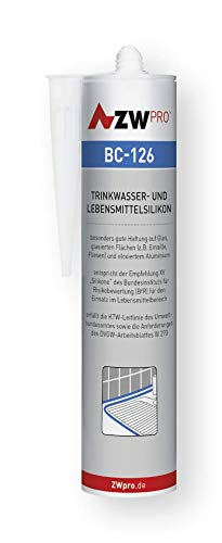 ZWpro BC-126 Trinkwassersilikon | Farbe: transparent | Inhalt (ml): 310