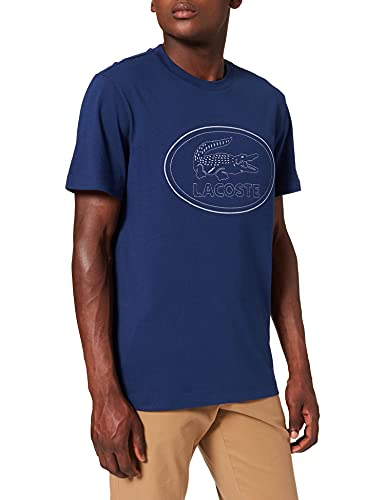 Lacoste TH0453 T-Shirt, Scille, XS Uomo