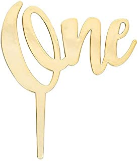 DecoPac Numeral One Candle Holder Cake Pick