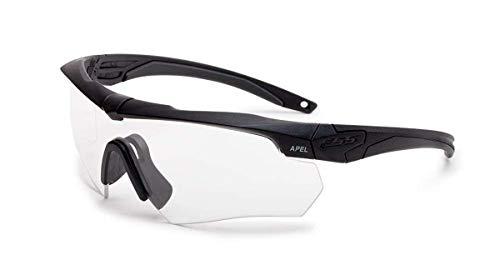 Ess - Gafas de seguridad transparentes resistentes a los arañazos y al desgaste