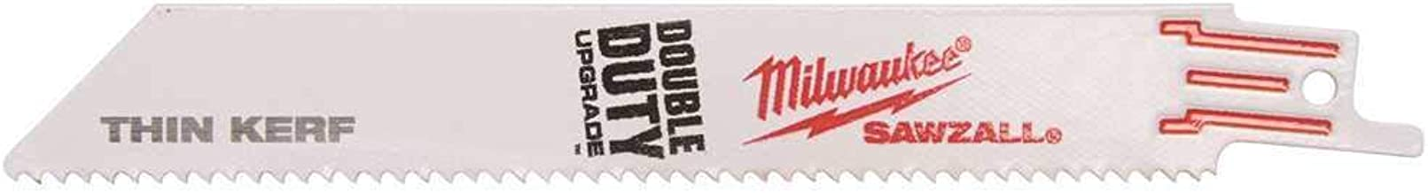 Milwaukee Säbelsägeblatt Metall 230 x 1,4 mm 50 Stück Sägeblatt Metallsägeblatt