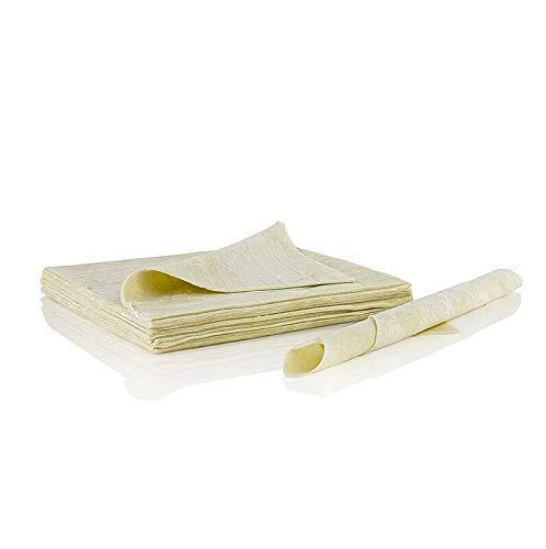 Wan Tan Teig-Blätter, dünn, 16x16cm, TK, 2x500g, 56 Blatt