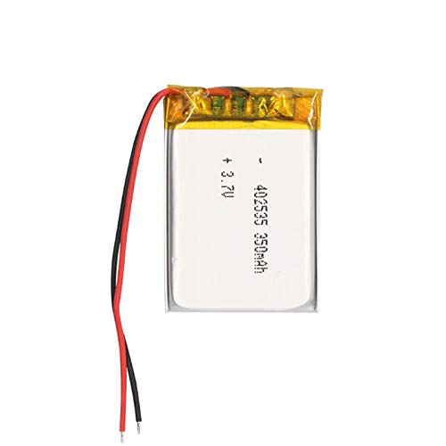 RFGTYH Batería Recargable de polímero de Litio de 3,7 V 350 mAh 402535 para Reloj Inteligente de navegación por satélite, grabadora de conducción 1PCS