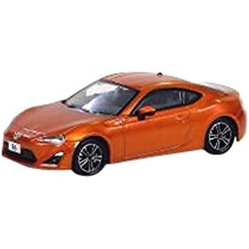 オーバーステア 1/64 TOYOTA 86 GT オレンジ 完成品