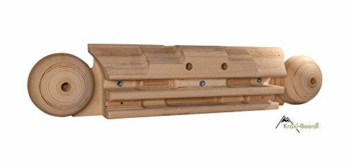 Kraxlboard Xtreme- das wohl vielseitigste Holz Kletterboard am Markt