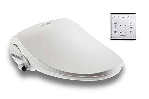 LEEVENTUS - Marque Allemande - J430R Version Longue - ! nouveau modèle ! - Siège de Toilette Électronique avec Télécommande douchette wc les soins intimes toilettes japonaises