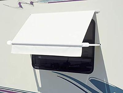 "CAREFREE Simply Shade RV Window Awning-White Vinyl-3' (36"")"