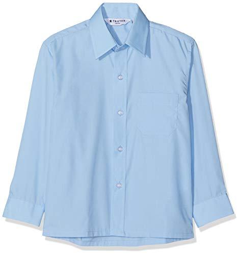 Trutex Jungen Nls Schuluniform-Oberteil, Blau (Blue Blu), 7-8 Jahre (Herstellergröße: 12)