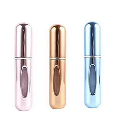 Mini Refillable Portable Perfume Atomizer Bottle Empty Spray Bottle, 5ml multicolor perfume spray bottle perfume atomizer, Atomizer Perfume Bottle for Travel Outgoing (B)