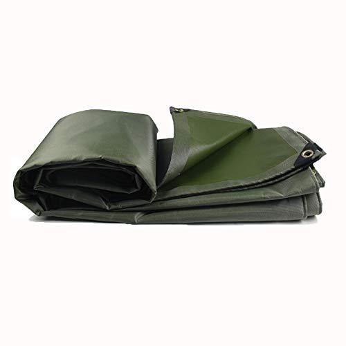 Telone Da Campeggio Tenda Parasole Tela Telone Panno Antipioggia Panno Ombra, 550 G / M2 ZHML (dimensioni : 3 * 5m)