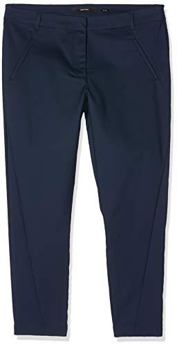 VERO MODA Damen Hose Vmvictoria NW Antifit Ankle Pants Noos, Blau (Navy Blazer), Gr. 40 /L32 (Herstellergröße:L)