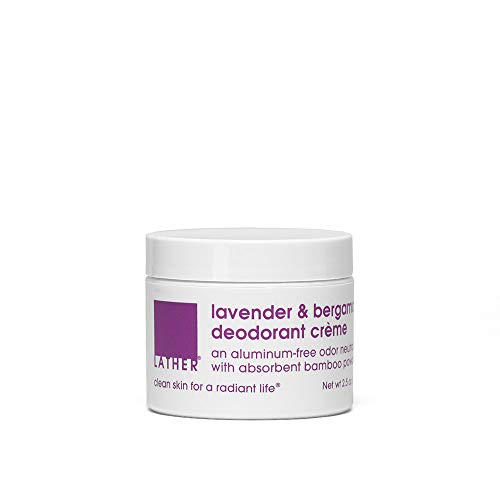 LATHER Lavender & Bergamont Deodorant, 2.5 Ounce