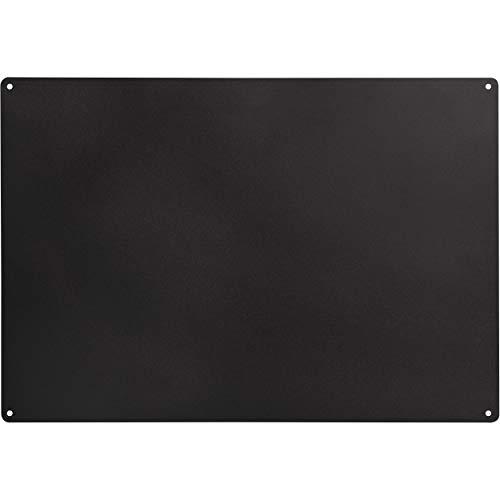 Tableau noir magnétique en acier | Tableau noir | 58 x 40 cm | Tableau noir magnétique, inscriptible / effaçable pour la maison et le bureau
