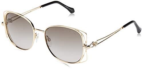 Roberto Cavalli Rc1031-32B-Gold Gafas de sol, Dorado (Gold), 55.0 para Mujer