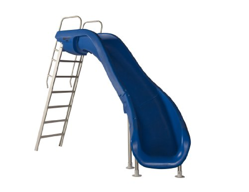 S.R. Smith 610-209-5813 Rogue2 Pool Slide, Right Curve, Blue