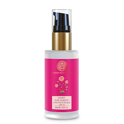 Forest Essentials Light Day Lotion - Indian Rose & Marigold 40ml by Forest Essentials