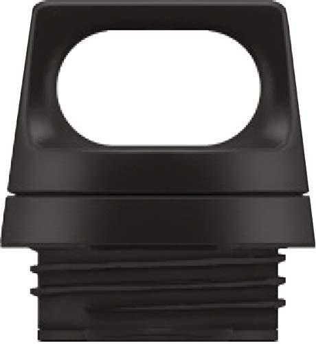 SIGG Hot & Cold Top Black Verschluss (0.75 & 1 L), Ersatzteil für SIGG Thermosflasche Hot & Cold, auslaufsicherer und tragbarer Verschluss